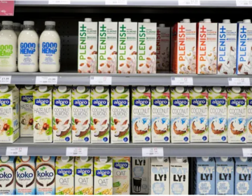 One in three Britons drink plant-based milk as demand soars Image